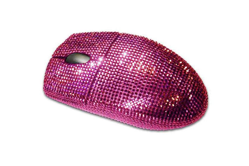 MJ - VIP Mouse Limited Edition. Incrusted Ruby.
