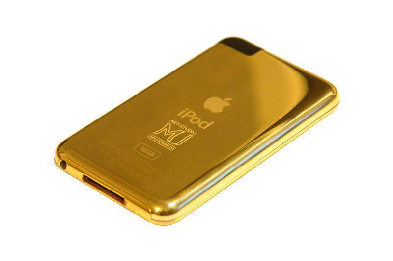 MJ - Apple iPhone 3G or Apple iPod from Gold AMG or Solid Gold 999